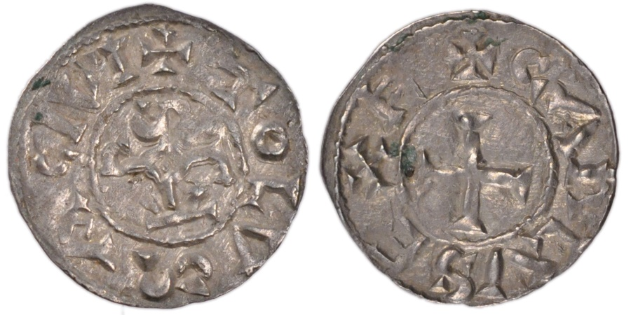 World Coins - FRANCE, Denarius, Toulouse, , Silver, Nouchy #67, 1.40