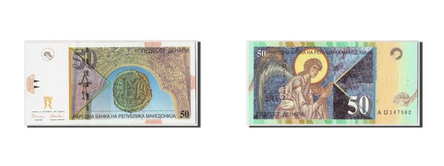 World Coins - Macedonia, 50 Denari, 1996, KM:15a, 1996-09-08, UNC(65-70)