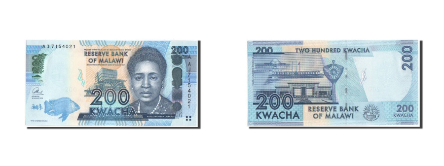 World Coins - Malawi, 200 Kwacha, 2014, KM:New, UNC