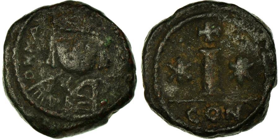 Ancient Coins - Coin, Maurice Tiberius, Decanummium, 582-602, Constantine in Numidia,
