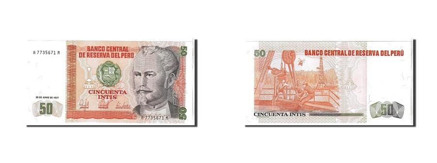 World Coins - Peru, 50 Intis, 1987, UNC(65-70), A7735671M