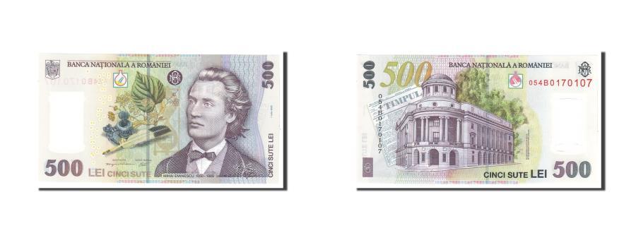 World Coins - Banknote, Romania, 500 Lei, 2005, 2005-07-01, KM:123, UNC(65-70)
