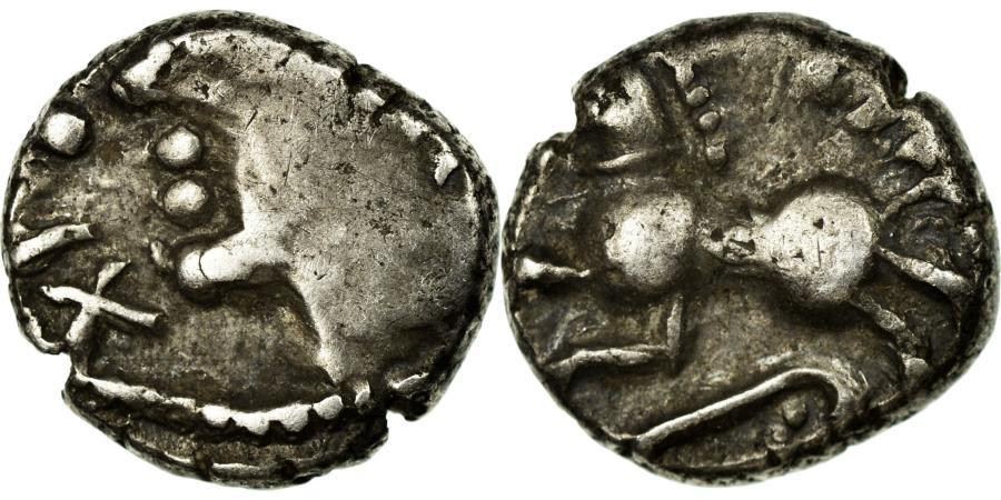 Ancient Coins - Coin, Sequani, Denarius TOGIRIX, 80-50 BC, , Silver, Latour:5550