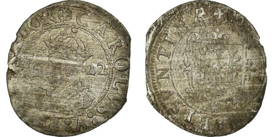 World Coins - Coin, France, Charles V, Carolus, 1622, Besançon, , Billon