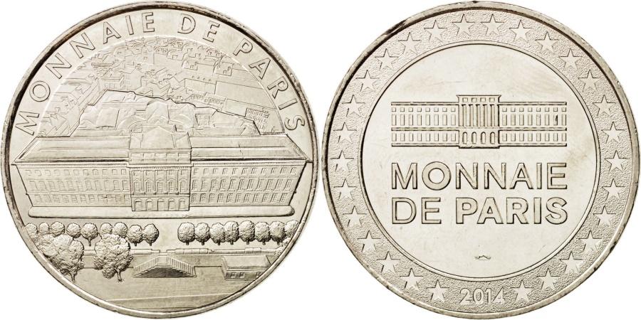France tourist token 75 paris h tel de la monnaie argent 2014 mdp - Hotel de la monnaie ...