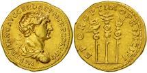 Trajan, Aureus, Rome, AU(50-53), Gold, RIC:296