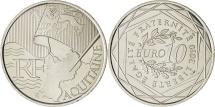 World Coins - FRANCE, 10 Euro, 2010, Paris, KM #1645, MS(63), Silver, 29, 10.00