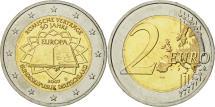 World Coins - Germany, 2 Euro, Traité de Rome 50 ans, 2007, MS(63), Bi-Metallic