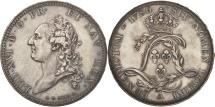 World Coins - France, Louis XVI, Ecu de Calonne, 1786, Paris, MS(60-62), Silver, Ciani:2202