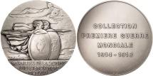 World Coins - France, Medal, Bataille de la Somme, juillet-novembre 1916, History, Delannoy