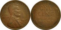 Us Coins - United States, Lincoln Cent, Cent, 1942, U.S. Mint, Philadelphia, EF(40-45)