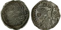 Ancient Coins - Bituriges Cubes, Bronze VANDIINOS, AU(55-58), Bronze, Delestrée:2587