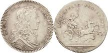 World Coins - France, Token, Royal, Louis XV, AU(50-53), Silver, Feuardent:13194 var.