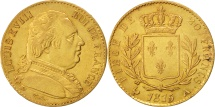 World Coins - France, Louis XVIII, 20 Francs, 1815, Paris, AU(50-53), Gold, KM 706.1