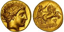 Kingdom of Macedonia, Philip III, Stater, Pella, MS(63), Gold, SNG ANS:172-6