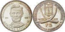 World Coins - Coin, Equatorial Guinea, 75 Pesetas, 1970, MS(63), Silver, KM:10.1