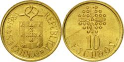 World Coins - Coin, Portugal, 10 Escudos, 1986, , Nickel-brass, KM:633