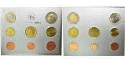 World Coins - VATICAN CITY, 1 Cent to 2 Euro, 2003, , (No Composition)