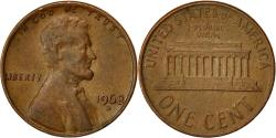 Us Coins - United States, Lincoln Cent, Cent, 1968, U.S. Mint, Denver, , Brass