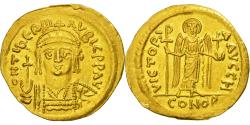 Coin, Maurice Tiberius, Solidus, Constantinople, , Gold, Sear:476