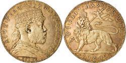 World Coins - Coin, Ethiopia, Menelik II, Birr, 1892 (1899), , Silver, KM:19
