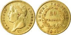 Ancient Coins - Coin, France, Napoléon I, 20 Francs, 1811, Paris, , Gold, KM:695.1