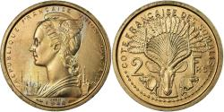 World Coins - Coin, French Somaliland, 2 Francs, 1948, Paris, ESSAI, , Copper-nickel