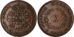 World Coins - Coin, MADEIRA ISLANDS, 10 Reis, 1842, , Copper