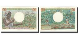 World Coins - Banknote, French Equatorial Africa, 50 Francs, 1957, KM:31, UNC(63)