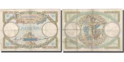 World Coins - France, 50 Francs, Luc Olivier Merson, 1933, 1933-06-22, VF(20-25)