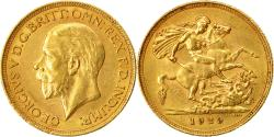 World Coins - Coin, South Africa, George V, Sovereign, 1929, Pretoria, , Gold, KM:A22