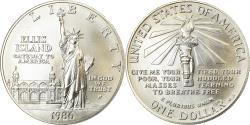 Us Coins - Coin, United States, Dollar, 1986, U.S. Mint, Philadelphia, FDC,