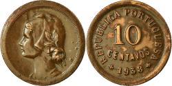 World Coins - Coin, Portugal, 10 Centavos, 1938, , Bronze, KM:573