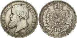 World Coins - Coin, Brazil, Pedro II, 1000 Reis, 1888, , Silver, KM:481