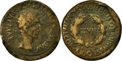 Ancient Coins - Coin, Spain, Augustus, As, Bilbilis, VF(20-25), Copper