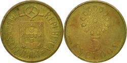 World Coins - Coin, Portugal, 5 Escudos, 1991, , Nickel-brass, KM:632