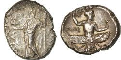 Ancient Coins - Coin, Cilicia, Tiribazos, Stater, 388-380 BC, Issos, , Silver