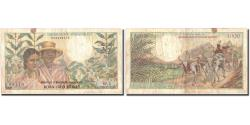 World Coins - Banknote, Madagascar, 1000 Francs = 200 Ariary, KM:59a, VF(20-25)