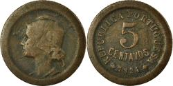 World Coins - Coin, Portugal, 5 Centavos, 1924, , Bronze, KM:572