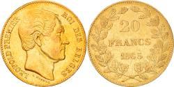 Ancient Coins - Coin, Belgium, Leopold I, 20 Francs, 1865, , Gold, KM:23