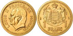 Ancient Coins - Coin, Monaco, Louis II, Franc, Undated (1943), ESSAI, , Gold, KM:E6