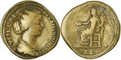 Ancient Coins - Coin, Lucilla, Sestertius, 167, Rome, , Copper, RIC:1746