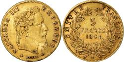 Ancient Coins - Coin, France, Napoleon III, Napoléon III, 5 Francs, 1864, Paris,