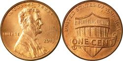 Us Coins - Coin, United States, Lincoln - Shield Reverse, Cent, 2013, U.S. Mint