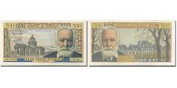 World Coins - France, 500 Francs, Victor Hugo, 1958, 1958-02-06, AU(55-58), Fayette:35.08