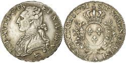 World Coins - Coin, France, Louis XVI, 1/2 Écu, 1/2 ECU, 44 Sols, 1791, Paris,