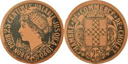World Coins - Coin, France, Chambre de Commerce, Cholet, 25 Centimes, , Cardboard
