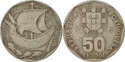 World Coins - Portugal, 50 Escudos, 1987, , Copper-nickel, KM:636