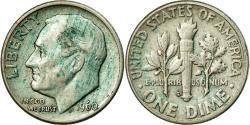 Us Coins - Coin, United States, Roosevelt Dime, Dime, 1960, U.S. Mint, Denver,