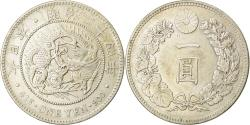 World Coins - Coin, Japan, Mutsuhito, Yen, 1891, , Silver, KM:A25.3
